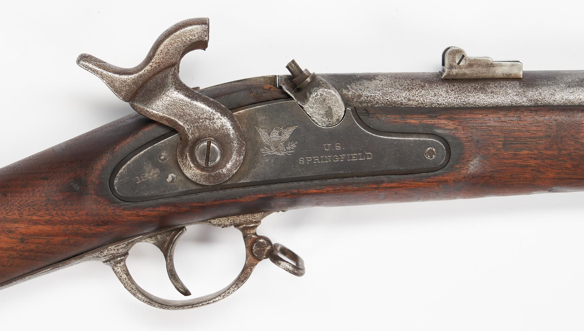 Lot 762: Civil War Springfield Model 1863 Rifle, .58 cal.