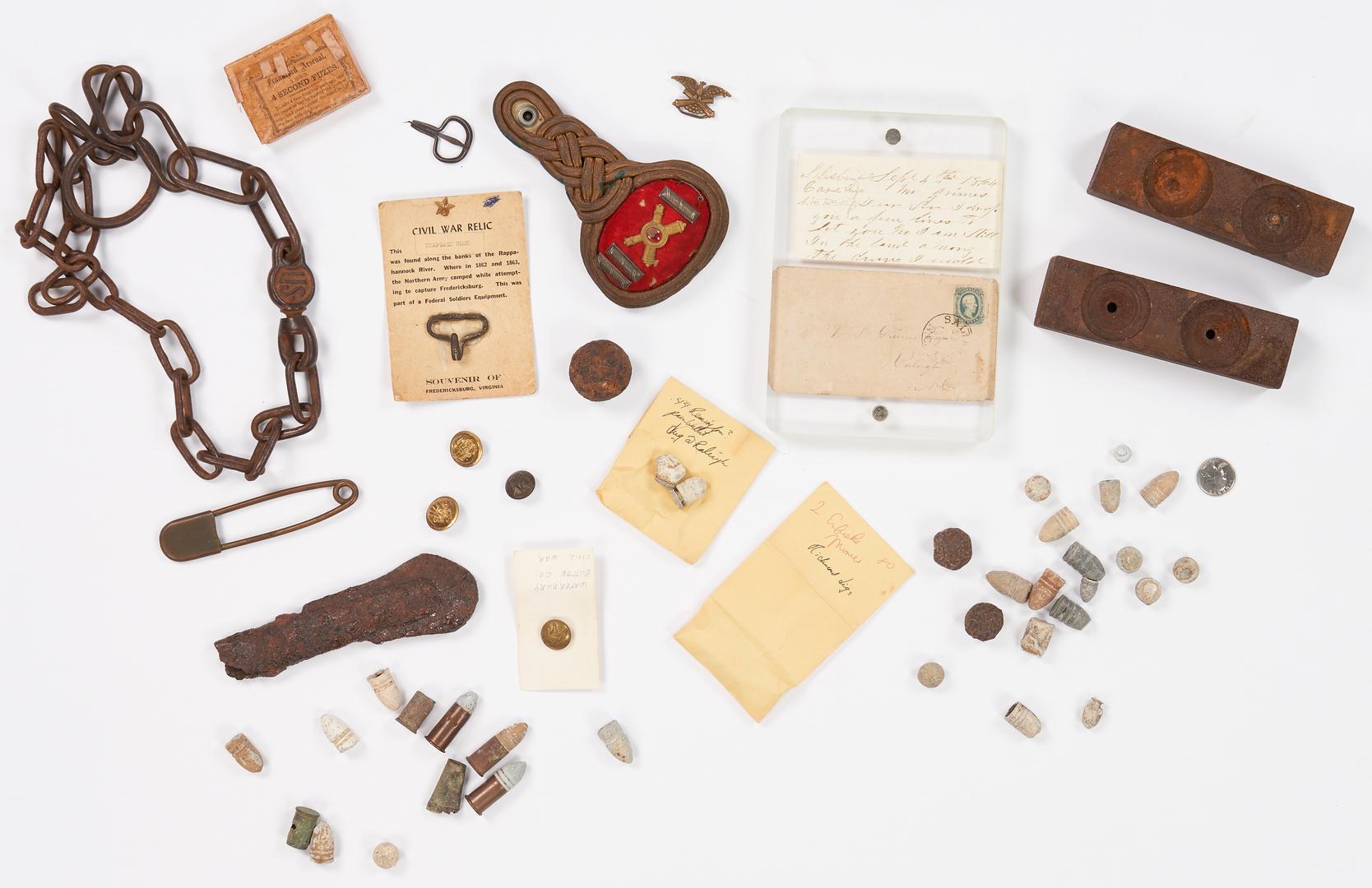 Lot 768: Large Group of Civil War & Post War Items