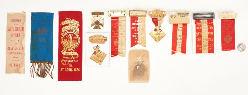 Lot 770: Collection of SC Reunion Items, incl. UCV, Knights Templar