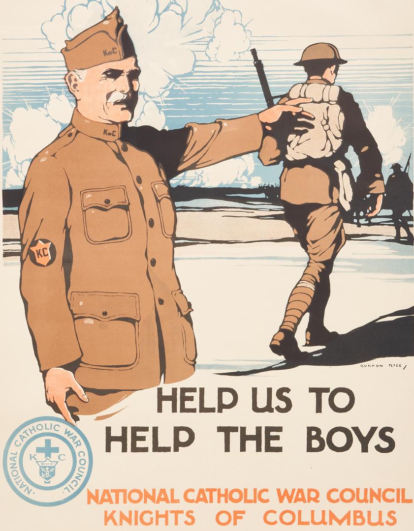 Lot 773: 5 WWI U.S. Propaganda Posters, Group #1