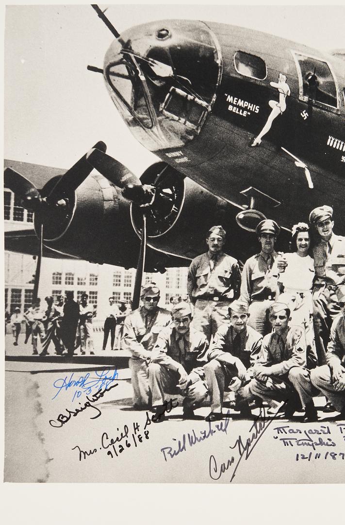 Lot 775: Crew of Memphis Belle Autographed Photograph