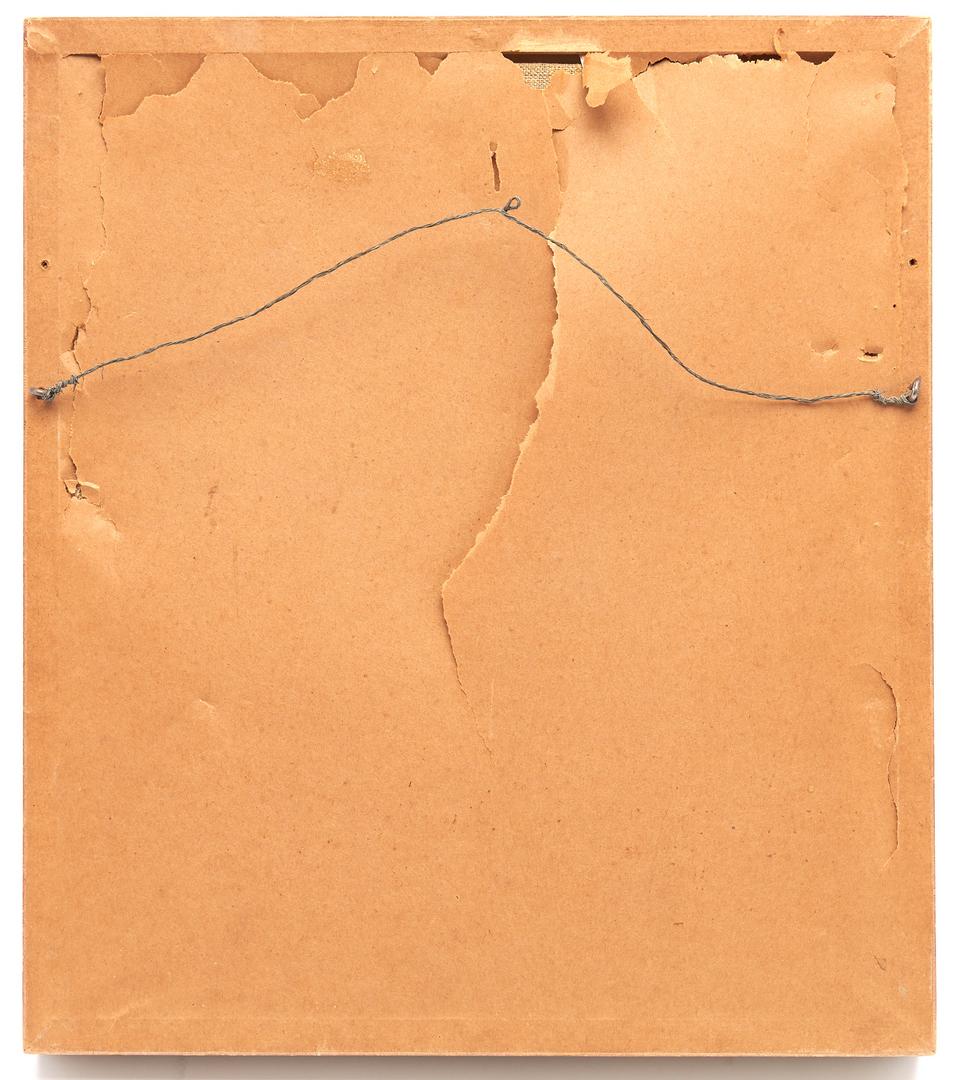 Lot 781: David Burliuk O/B, Portrait of a Young Woman