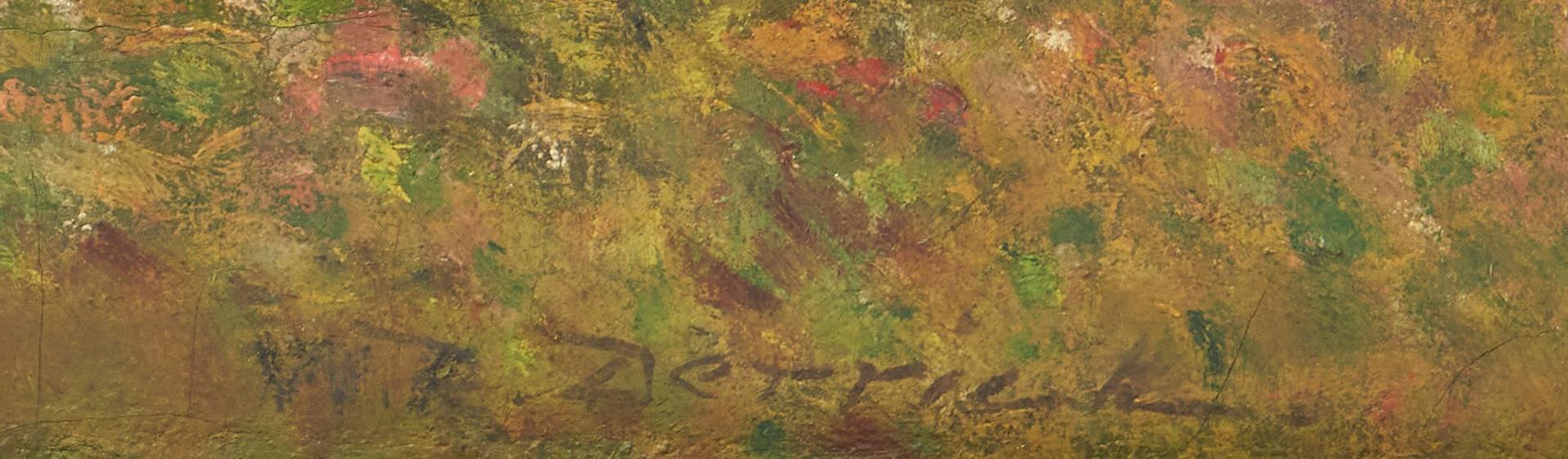 Lot 799: William R. Derrick O/C Landscape Painting