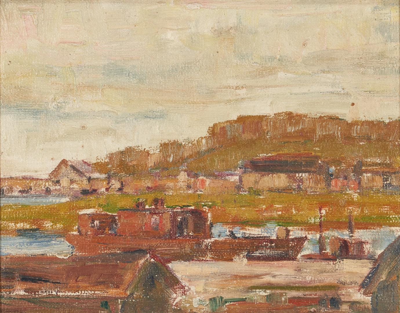 Lot 803: 2 Oil Landscapes, Albert Scott Cox & Sydney Dale Shaw