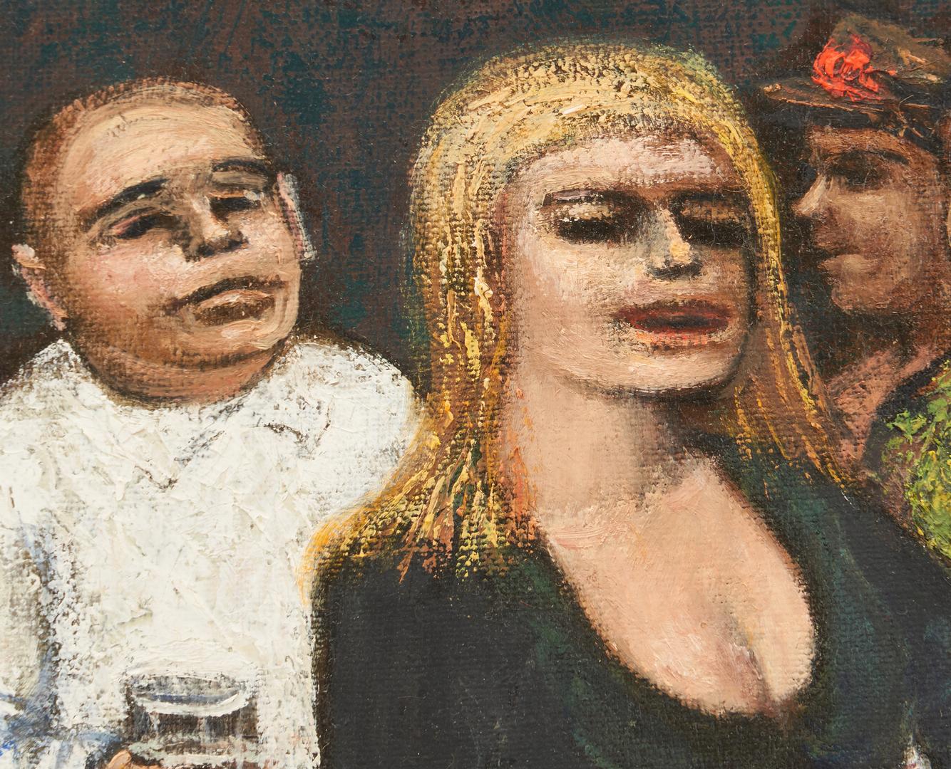 Lot 805: Albert Pels O/B, Figures in a Bar