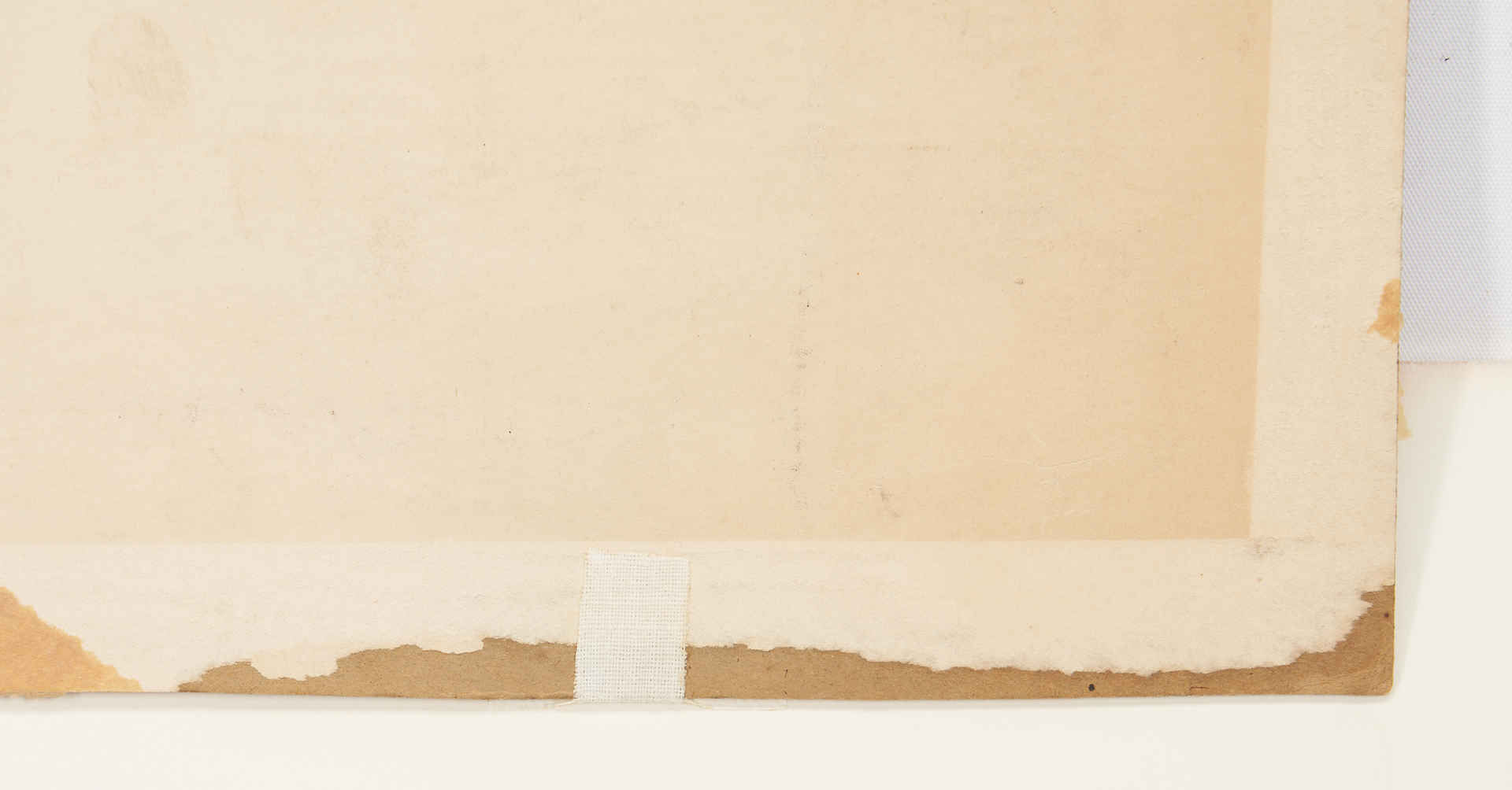 Lot 806: Lewis Borgo Industrial Painting, possible Mural Study
