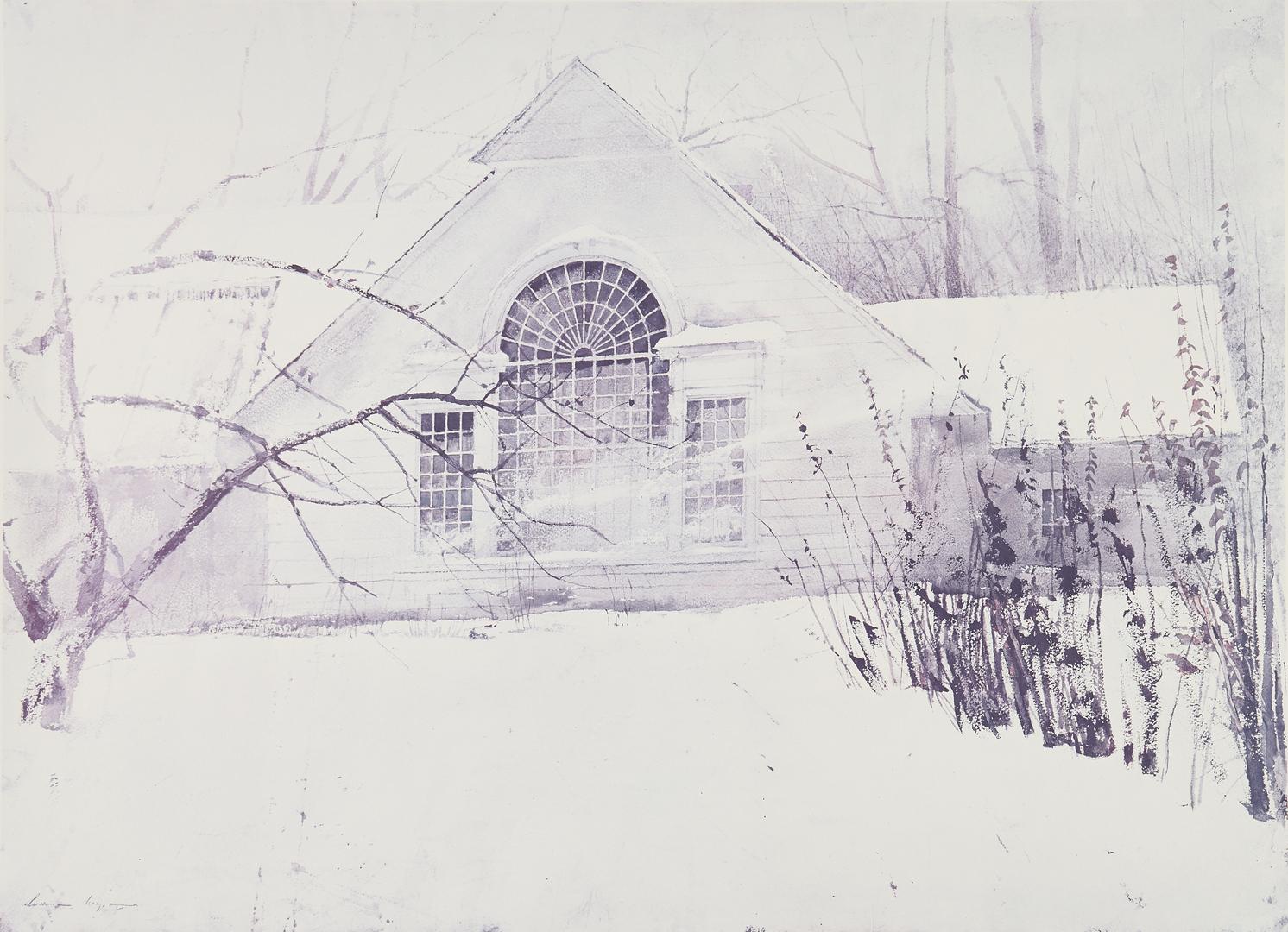 Lot 810: Andrew Wyeth Signed Print, North Light
