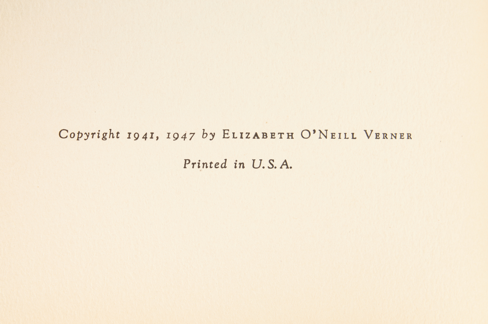 Lot 814: 2 Elizabeth Verner Signed Prints & Signed Book, 3 items