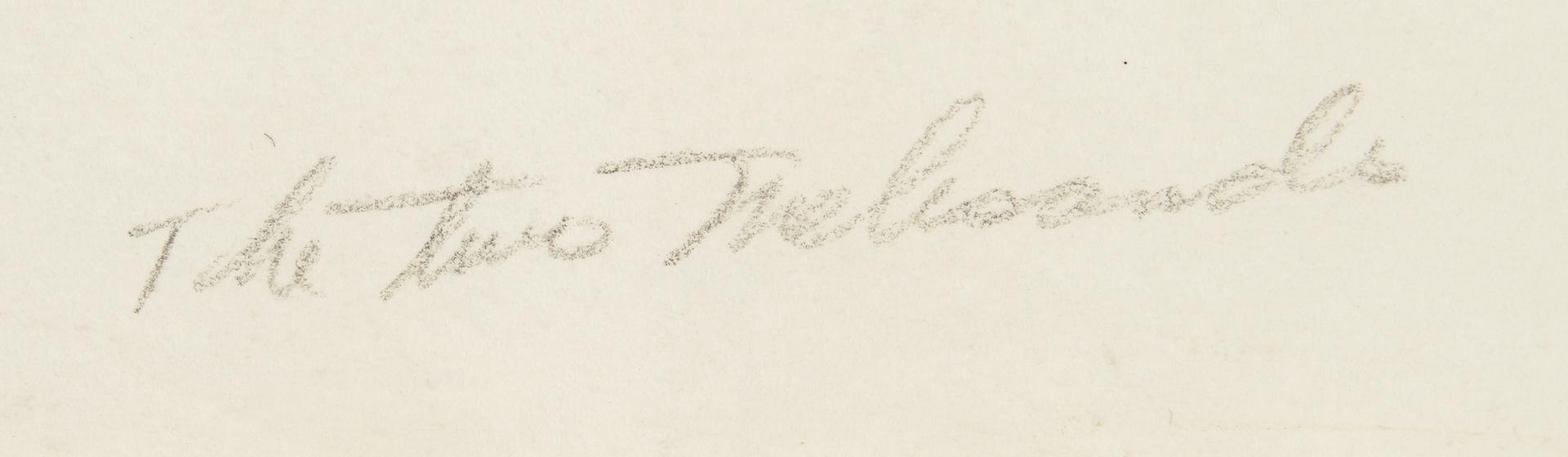 Lot 815: 4 Gerald Brockhurst Etchings, Elizabeth, Trial