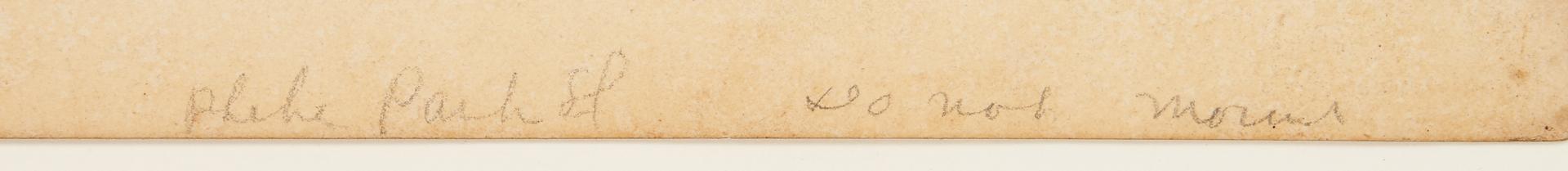Lot 818: George Brookshaw Pineapple Print