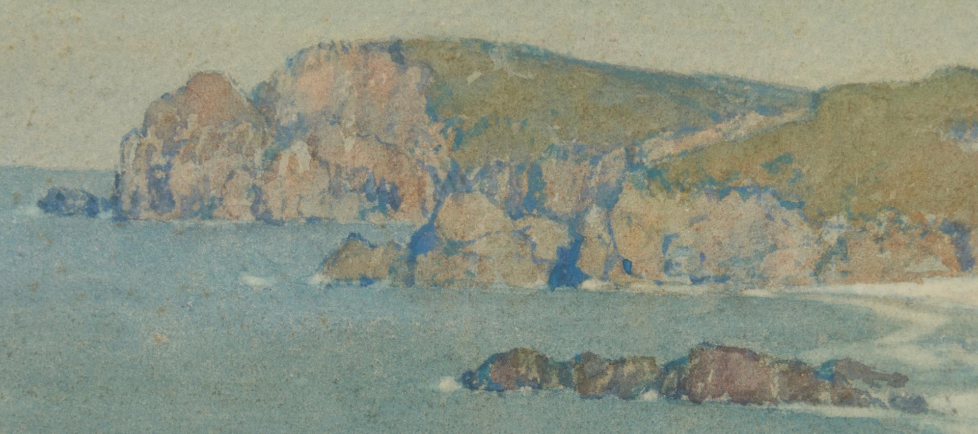 Lot 822: Albert Foweraker W/C, Coastal Landscape
