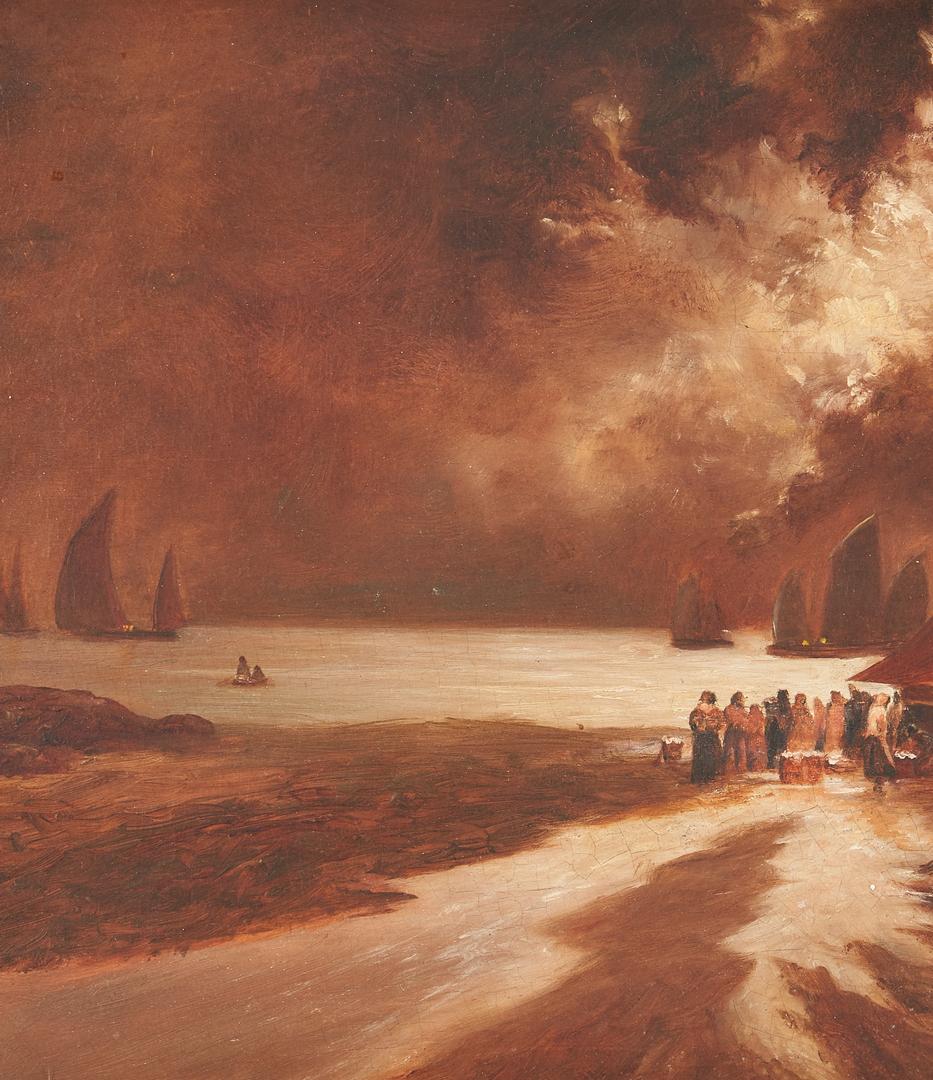 Lot 824: 2 Maritime O/B Paintings, incl. Raymond Woog
