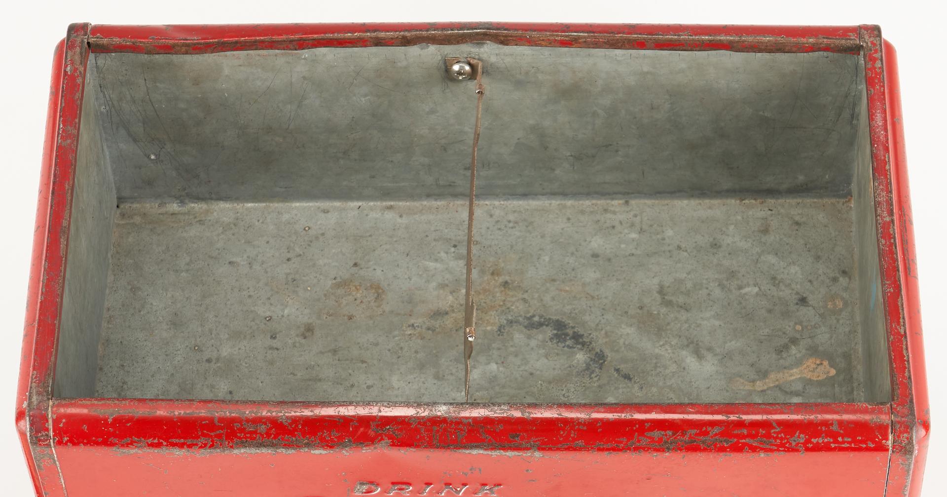 Lot 842: 1939 Coca Cola Salesman Sample Cooler