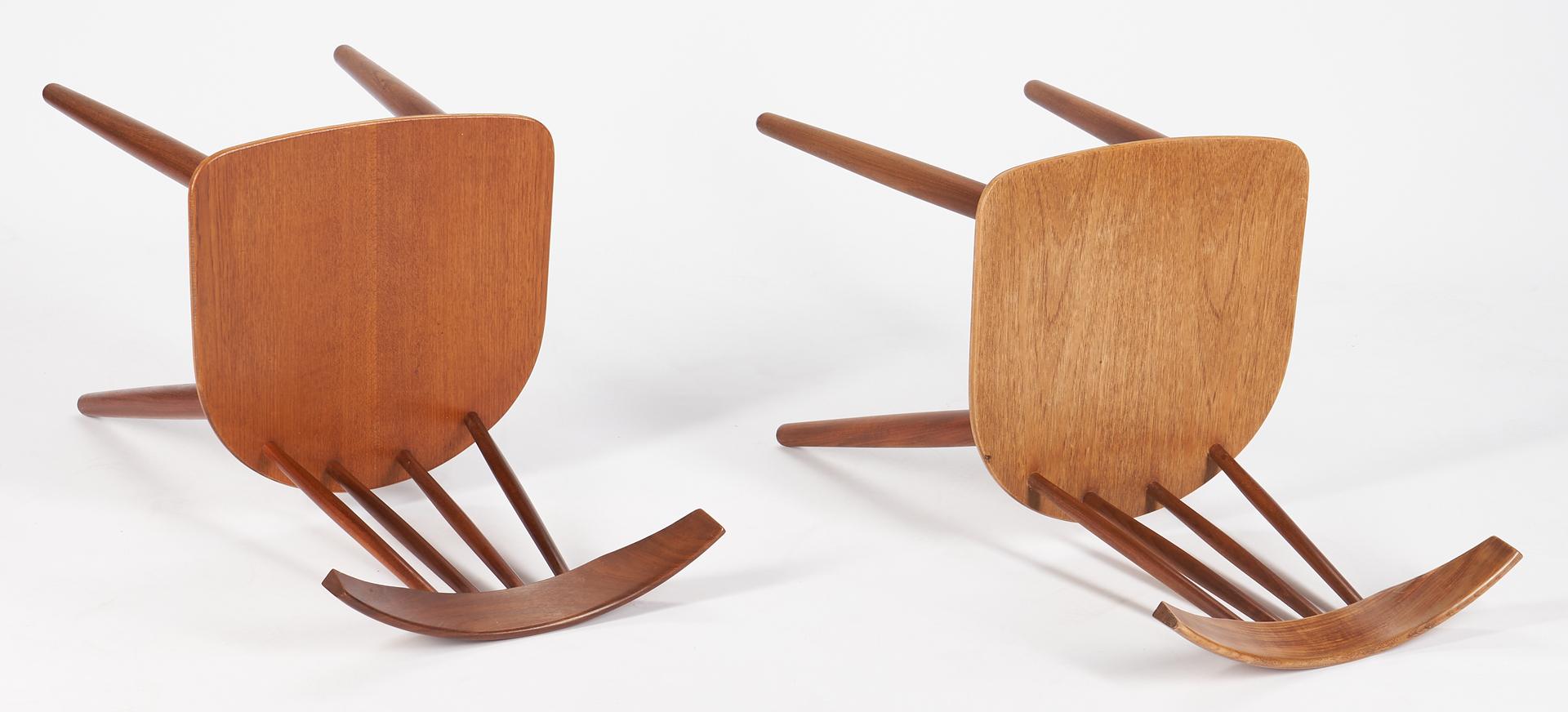 Lot 857: 8 Danish Modern Teak Chairs by Frem Rojle