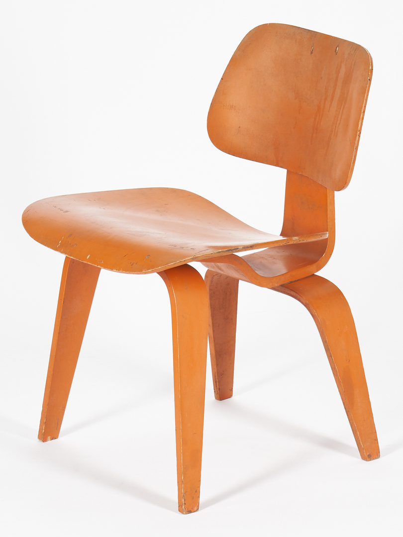 Lot 862: 3 Eames Mid Century DCW Chairs