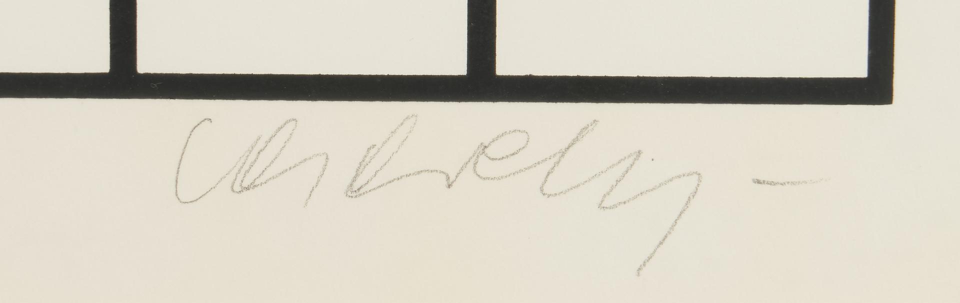 Lot 872: Victor Vasarely Modern Op art Screenprint, Bora D