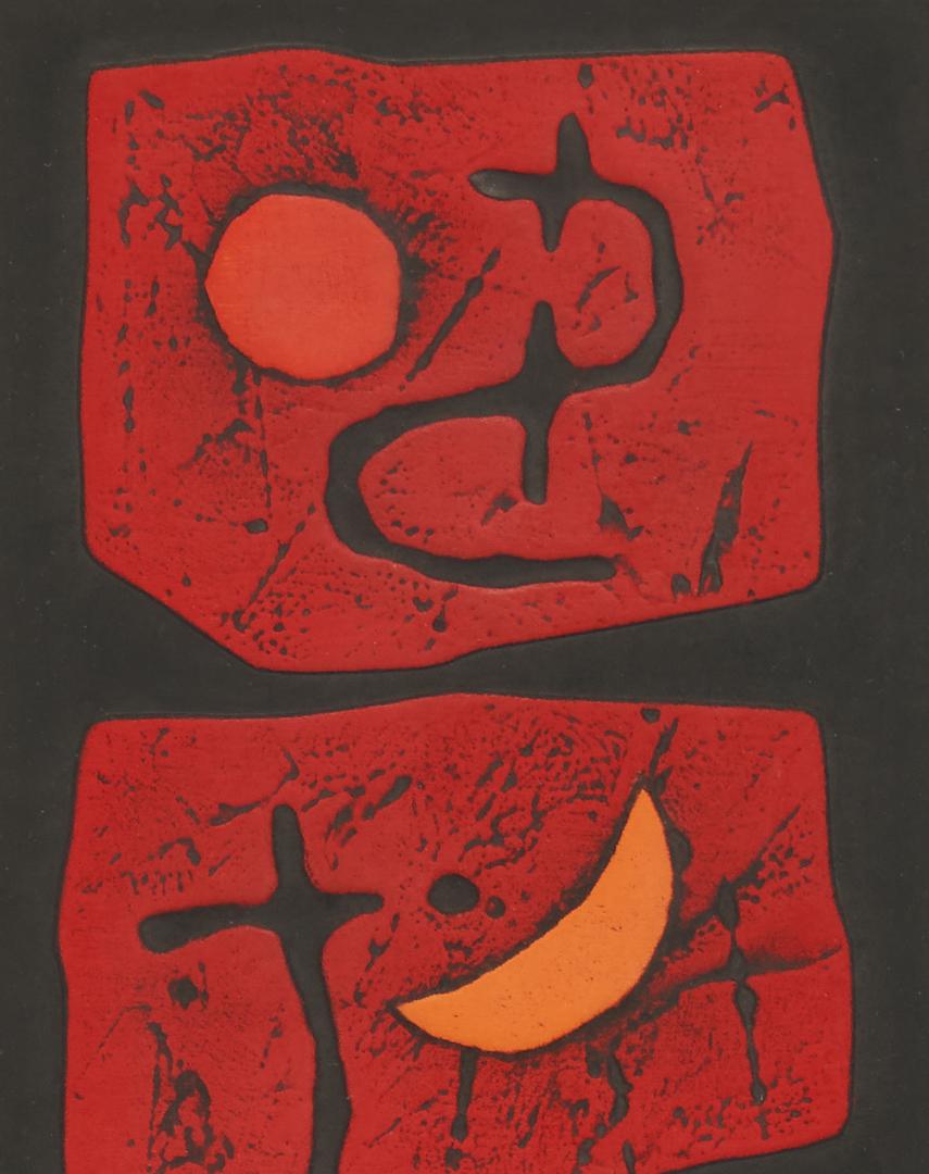Lot 889: 2 Framed Haku Maki Signed Prints