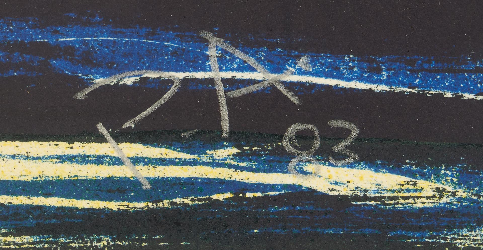 Lot 899: Peter Alexander Abstract Lithograph, Panocha Bob