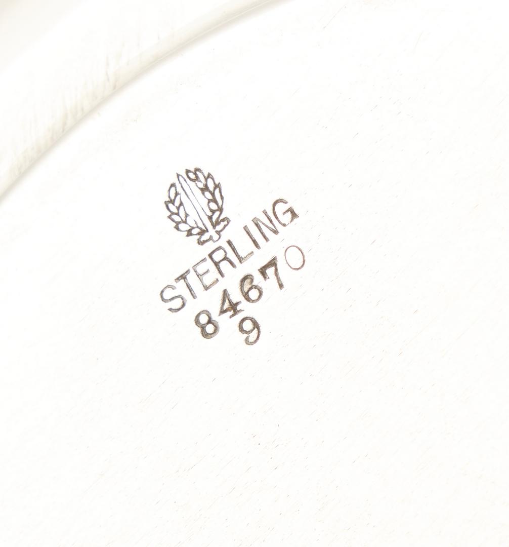 Lot 915: 4 Sterling Silver Hollowware Items, incl. Watson, Alvin