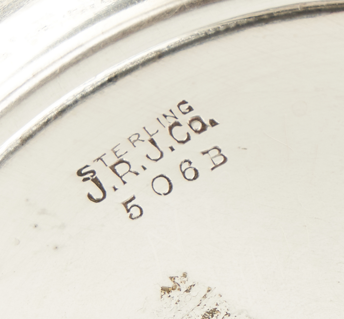 Lot 921: J.R.J. Co. Sterling Silver Water Pitcher