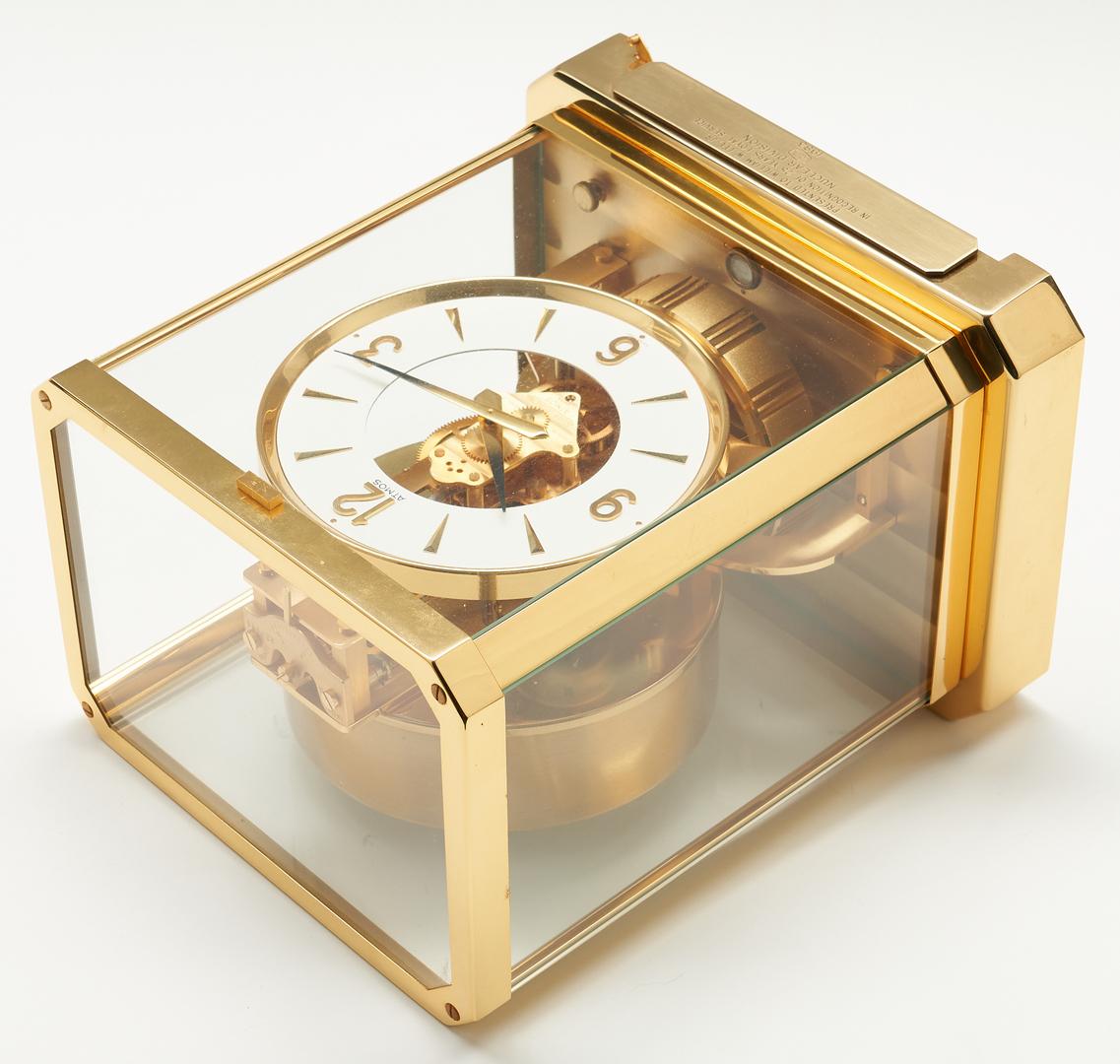 Lot 933: Le Coultre Atmos Mantle Clock
