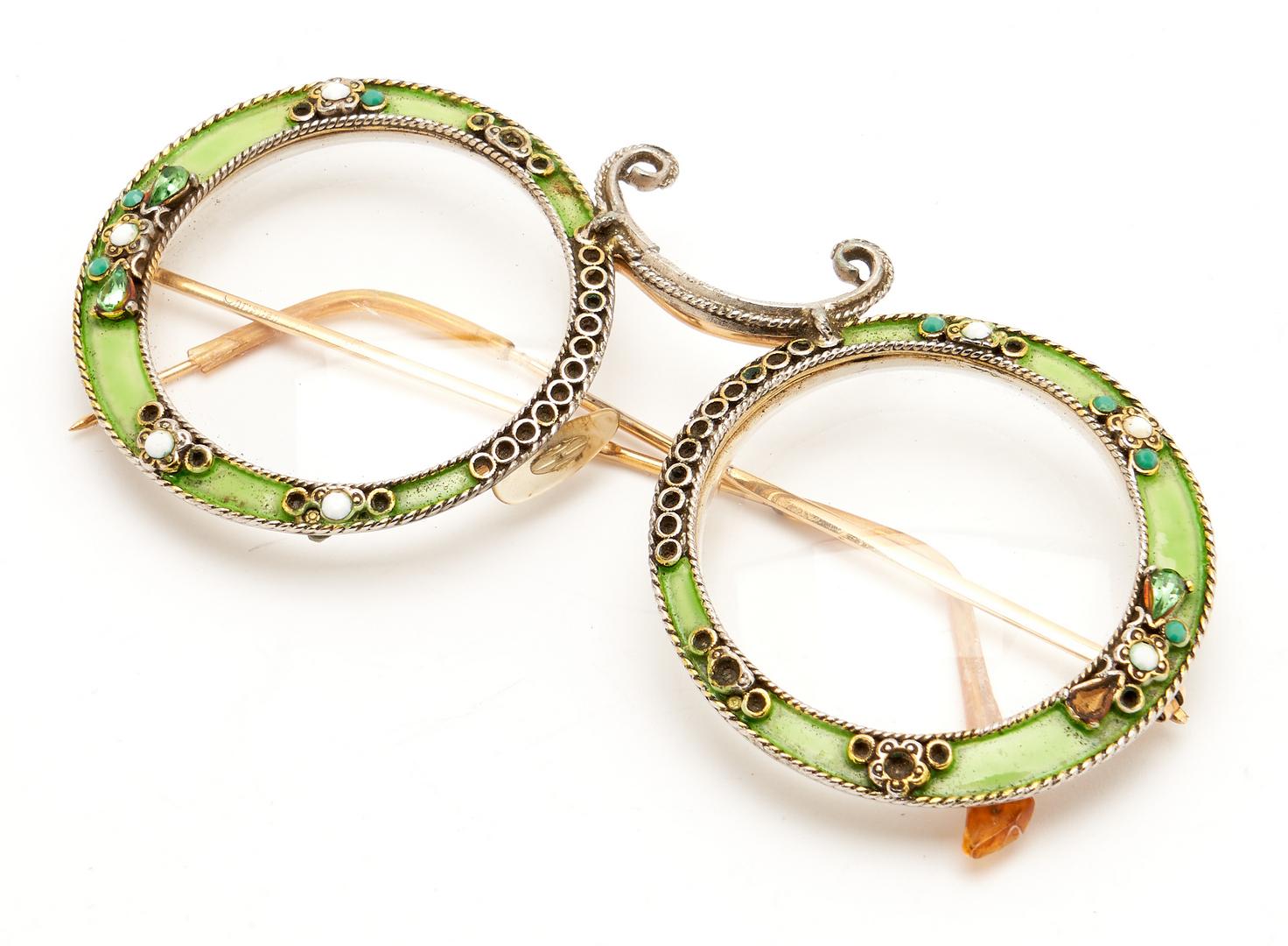 Lot 936: Amber & Designer Jewelry, incl. Dior Eyeglasses