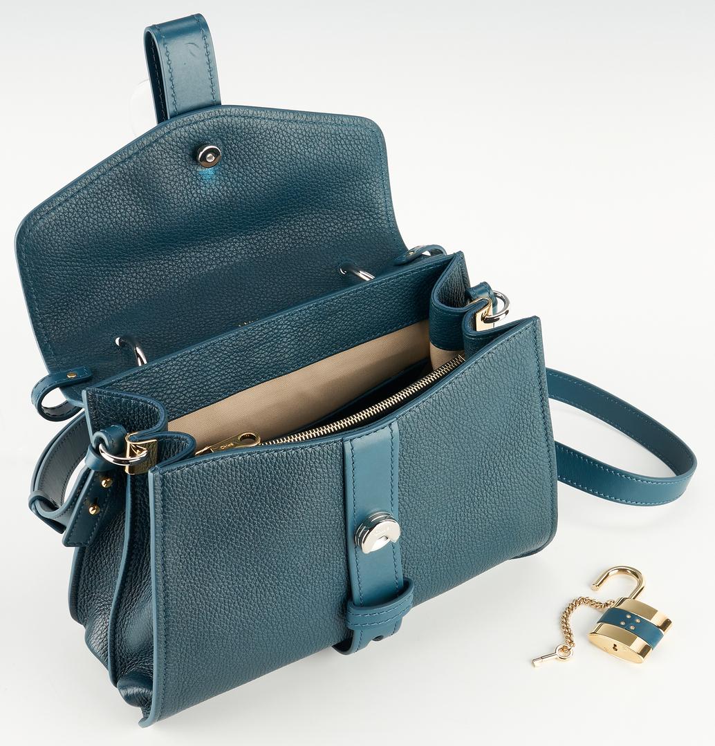 Lot 938: Chloe Aby Day Navy Ink Shoulder Bag, Medium