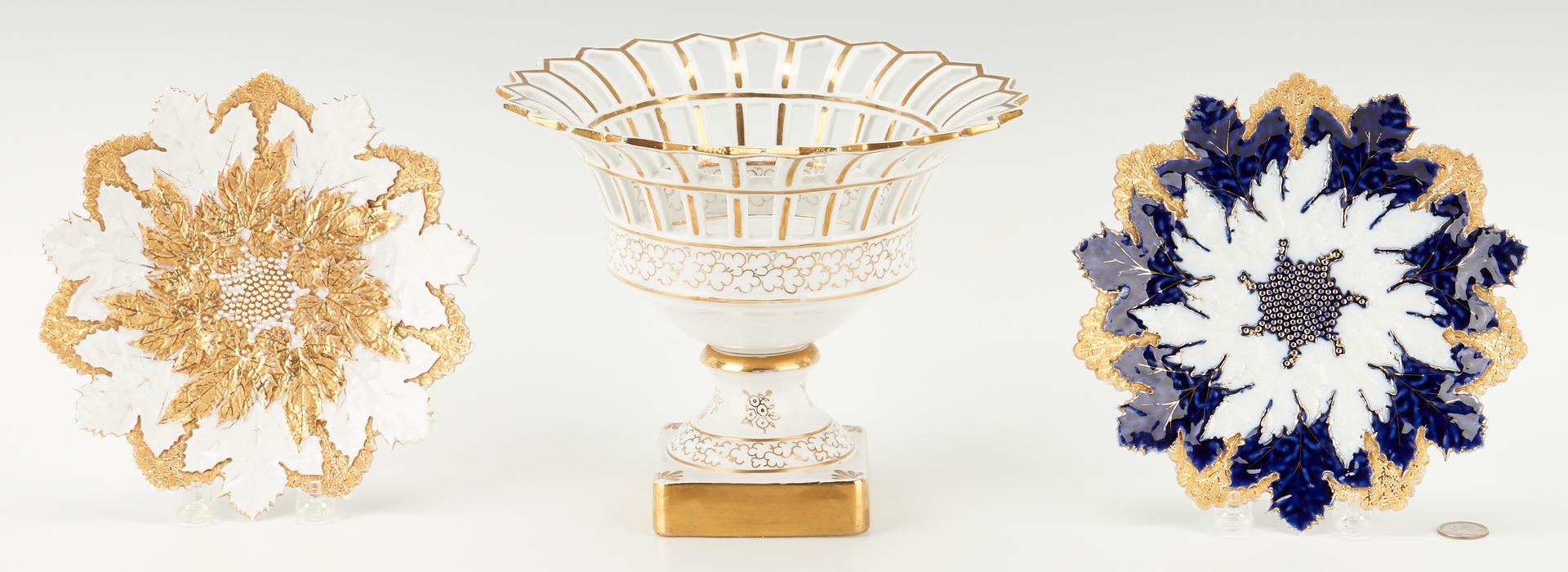 Lot 957: 3 Continental Porcelain Items, incl. Meissen