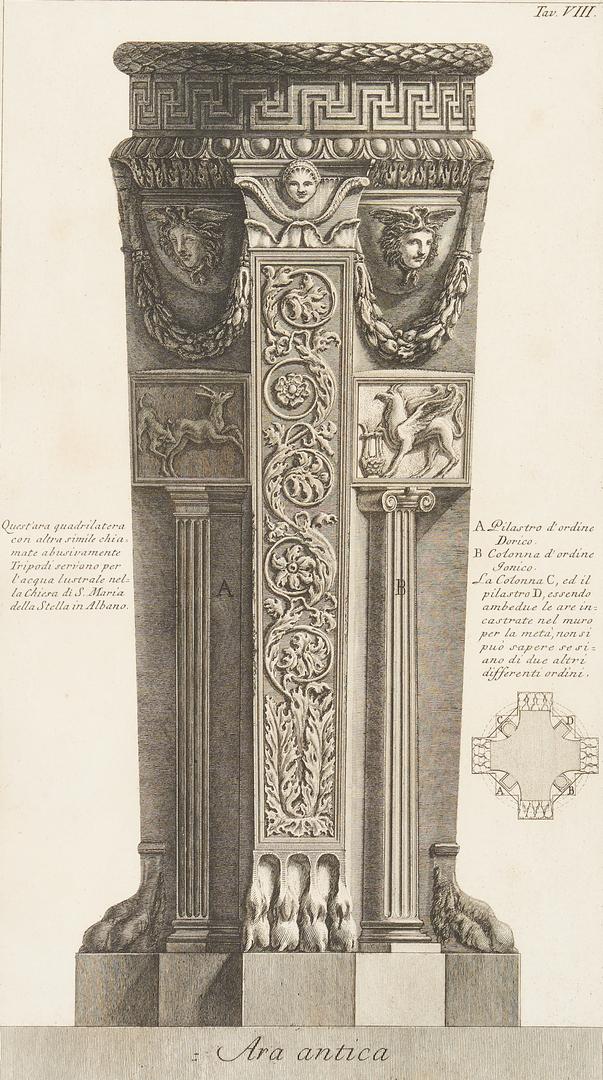 Lot 969: 3 Piranesi Engravings