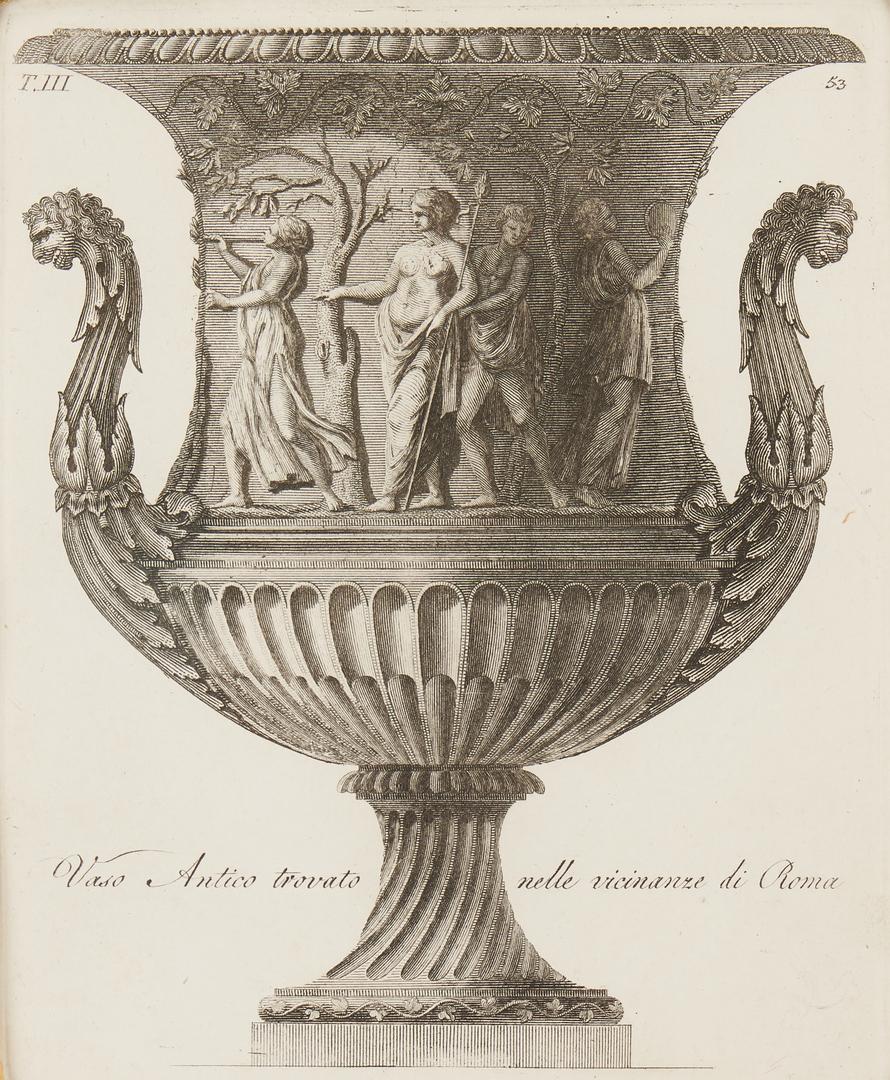 Lot 970: 4 Roman Vase Engravings