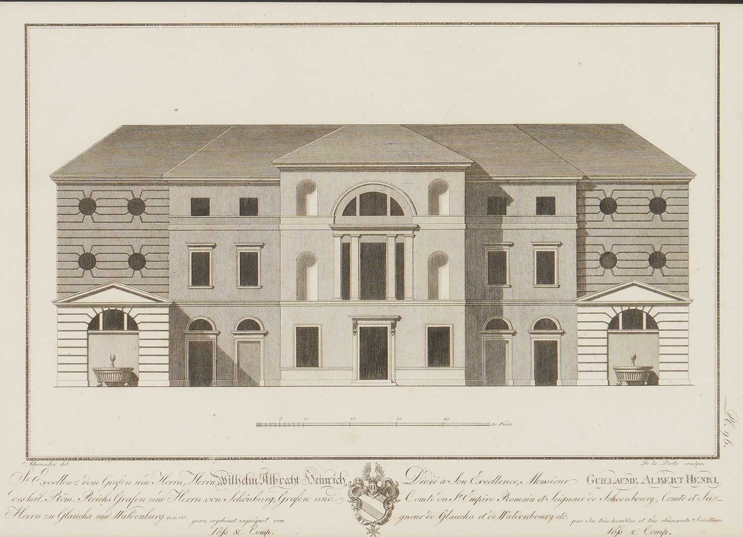 Lot 974: 4 Architectural Engravings