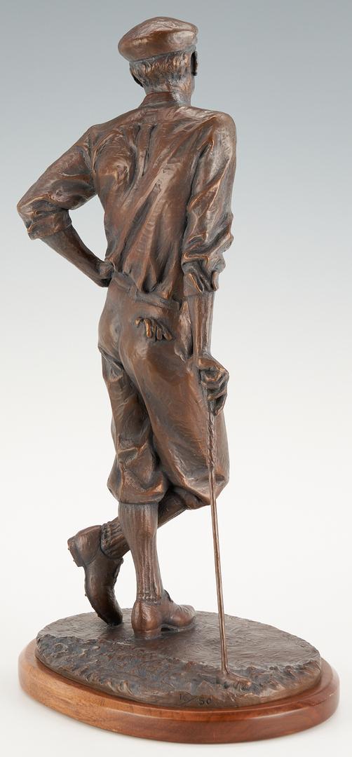 Lot 979: Blair Buswell Bronze Sculpture, Gentleman's Game or Driver