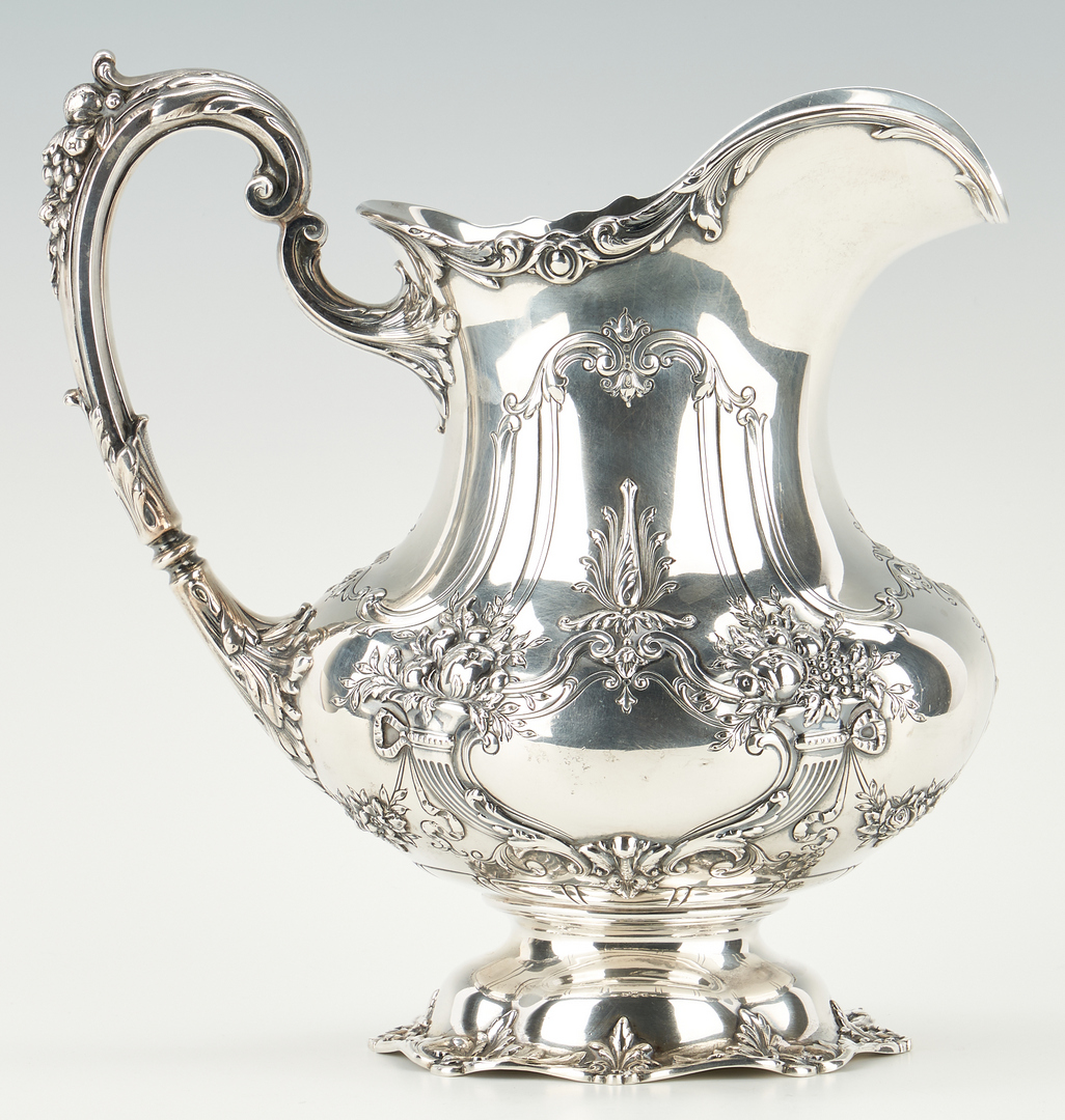 Lot 97: Reed & Barton Francis I Sterling Water Pitcher