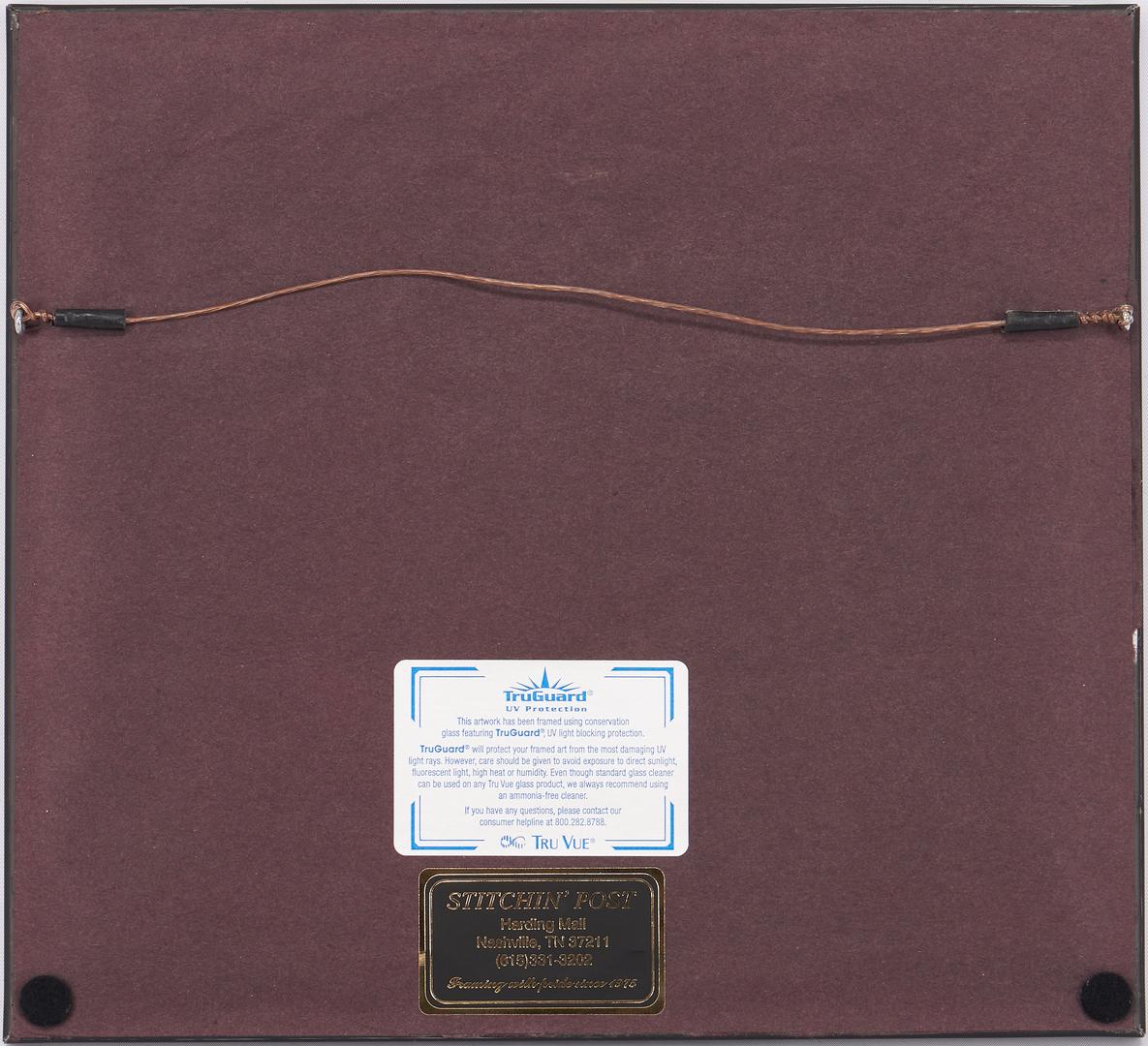Lot 987: 2 Louis Jones, 1 Leon Pescheret Smoky Mtn. Etchings, 3 items