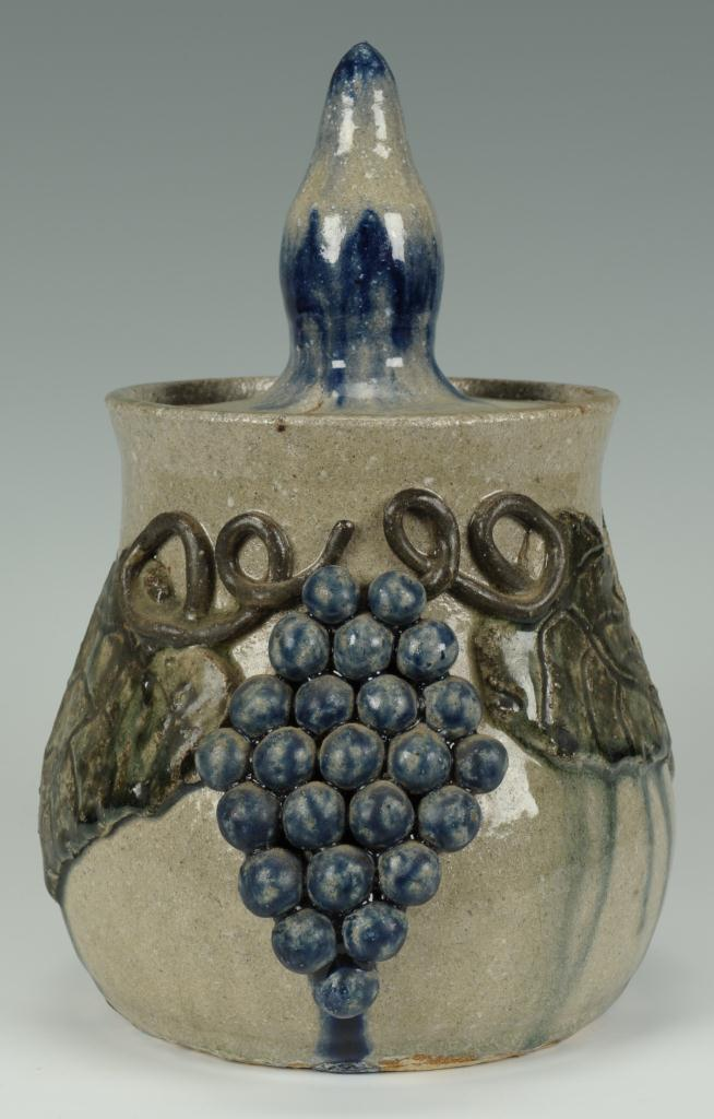 Lot 103: Georgia Folk Pottery Canister Set, Arie Meaders