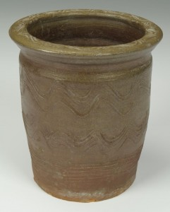 Lot 104: Greene Co. TN stoneware creampot sine waves - Image 5