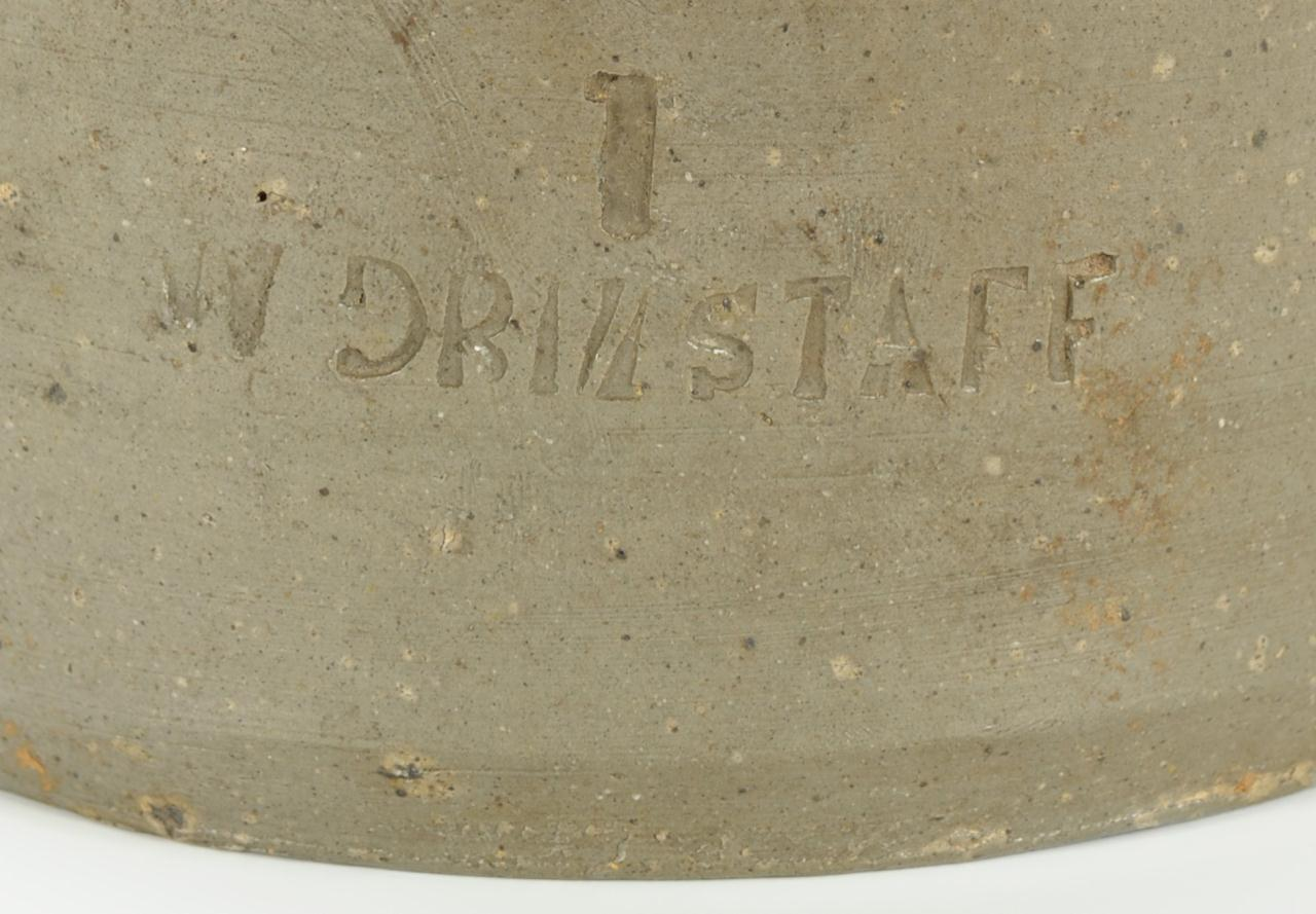 Lot 105: East Tennessee William Grindstaff Stamped Jar