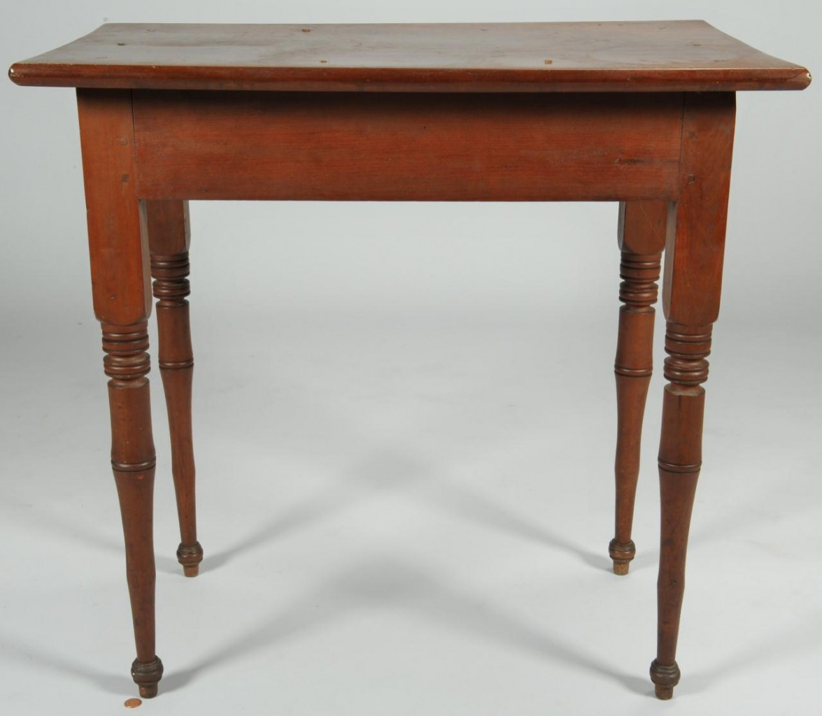 Lot 114: East Tennessee Rectangular side table