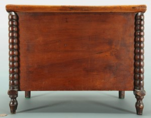 Lot 115: East TN Miniature Blanket Chest