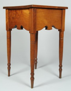 Lot 116: Rare East TN Table w/ Scalloped Apron