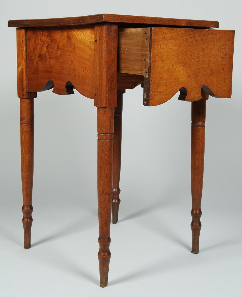Lot 116: Rare East TN Table w/ Scalloped Apron