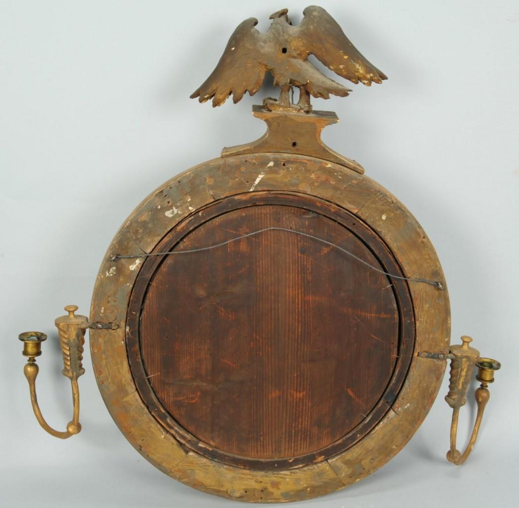 Lot 118: Federal Bull's Eye Mirror