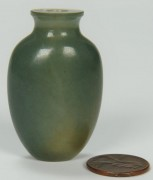 Lot 11: Chinese green jade snuff bottle