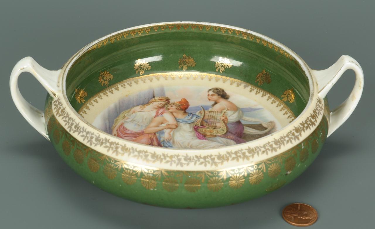 Lot 124: Imperial Russian Porcelain Bowl, Gardner