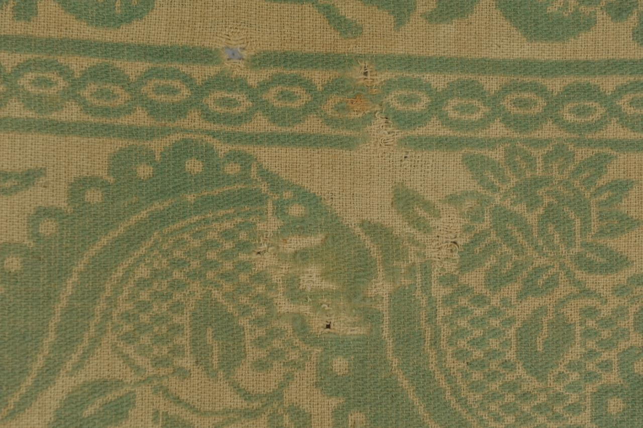 Lot 135: East TN Green & White Maryville Woolen Mill Co. Co