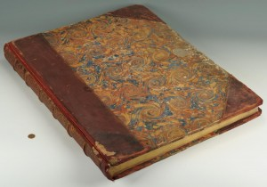 Lot 159: Large Folio Book of William Hogarth Prints