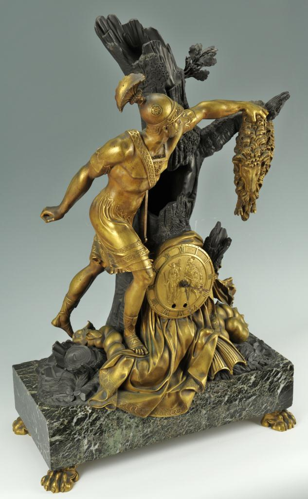 Lot 168: Restoration Ormolu Clock Style of Choiselat