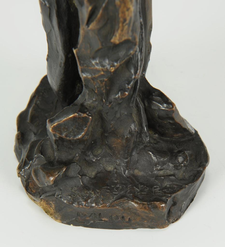 Lot 171: Aime Jules Dalou bronze sculpture