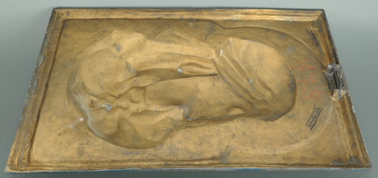 Lot 173: Cold Painted Bronze Arabian Plaque Attrib. Waagen