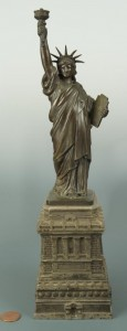Lot 174: Statue of Liberty Committee Model, circa 1885